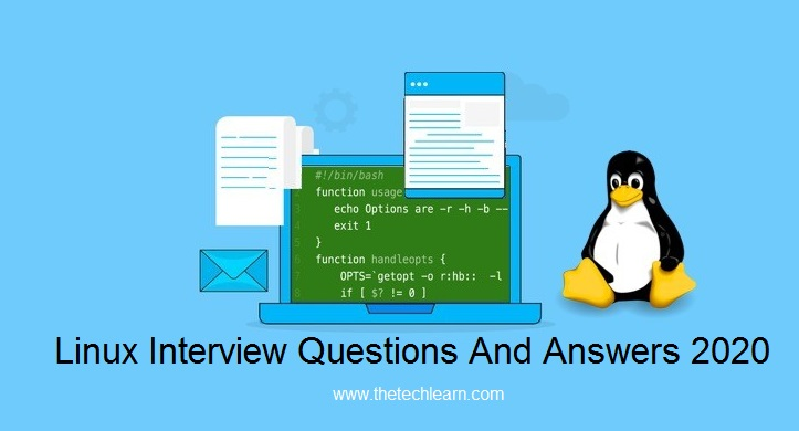 Updated Linux Interview Questions And Answers 2020