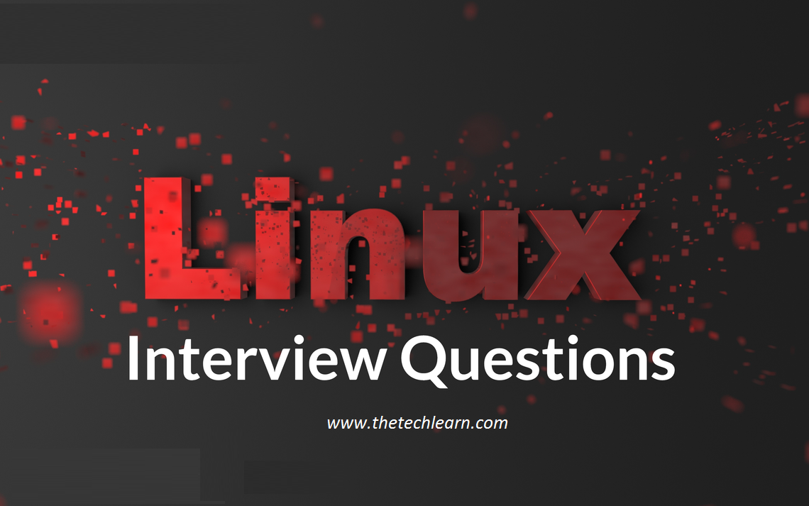 linux interview questions and answers for experienced 2020
