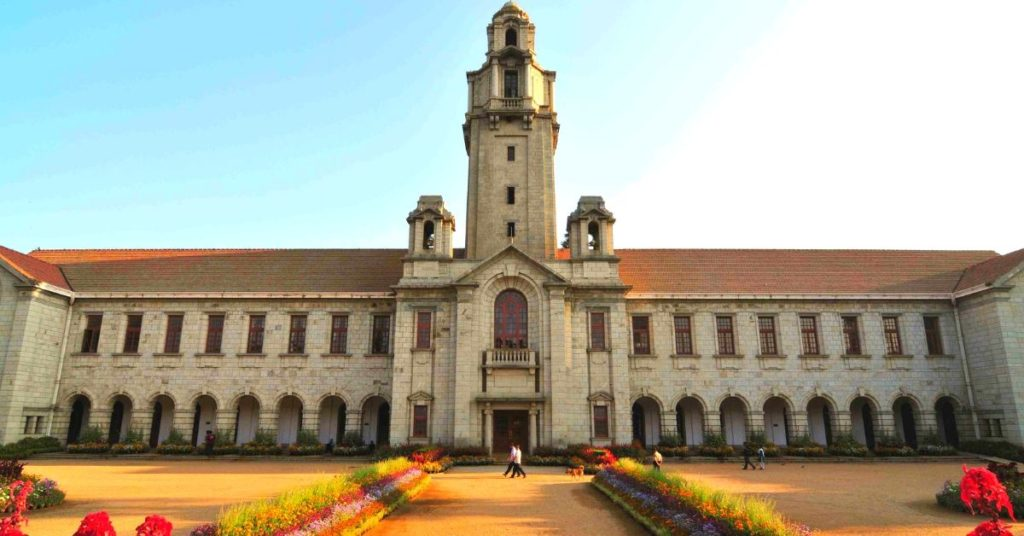 IISC in best universities in india