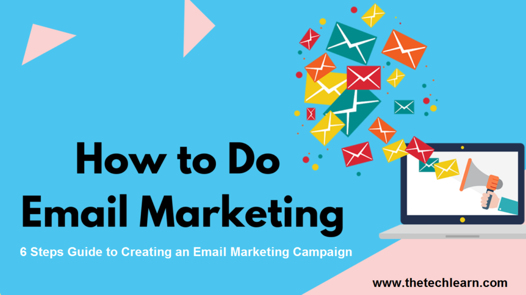 how to do email marketing step by step