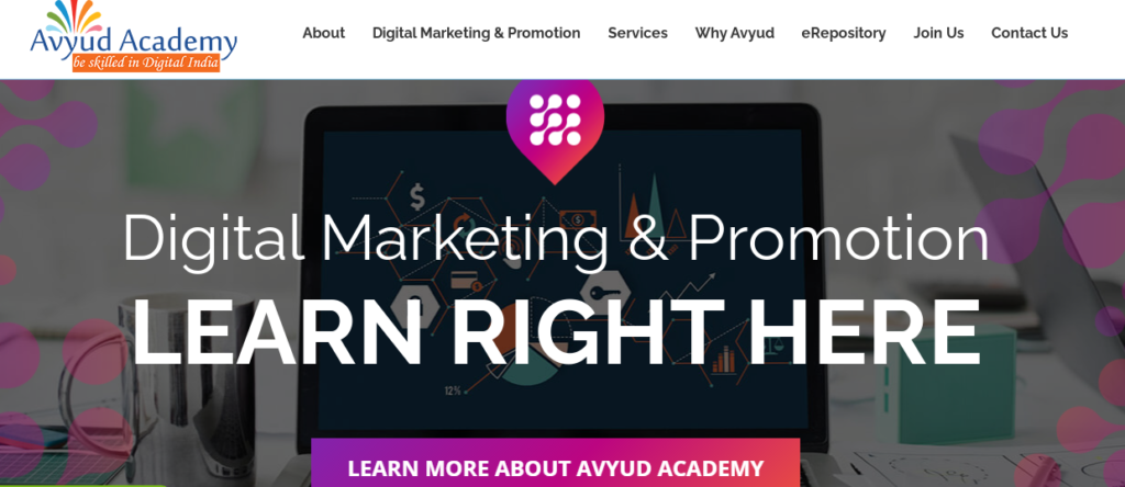 Avyud Academy - 3rd best digital marketing institute in delhi