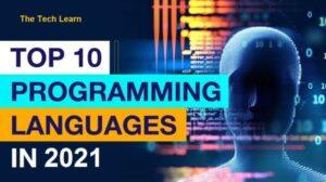 Top 10 Most Demanding Programming Languages